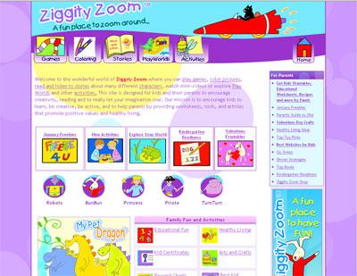 Website of the Day: Ziggity Zoom