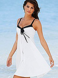 Victoria's Secret - Bow-tie babydoll Bra Top dress