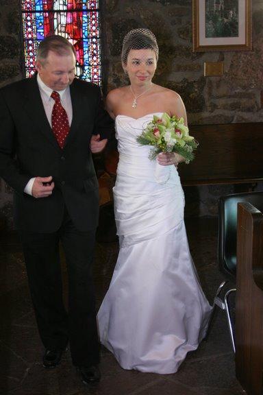 My dress was by Watters
