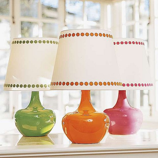 Nice and New: Milk Glass Lamp Base