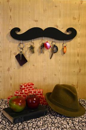 Love It or Hate It? Mustache Key Holder