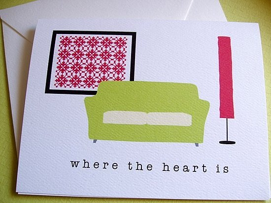 The Card Shop: Welcome to Your New Home Card