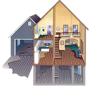 Casa Verde: Radiant Floor Heating