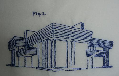 Cool Idea: Frank Lloyd Wright in Thread
