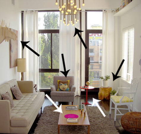 Found it sandbox studio living room popsugar home for Studio living room designs