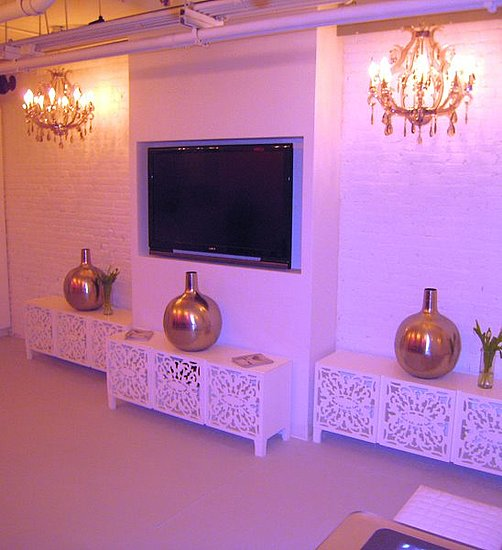 Brocade Home Designs Rock and Roll Hall of Fame VIP Room