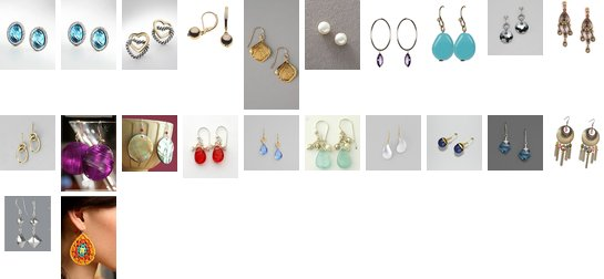 Earrings Galore