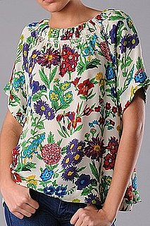 The Look For Less: See by Chloe Floral Blouse
