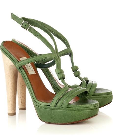 Lanvin Platform T-Bar Sandal ($1,135)