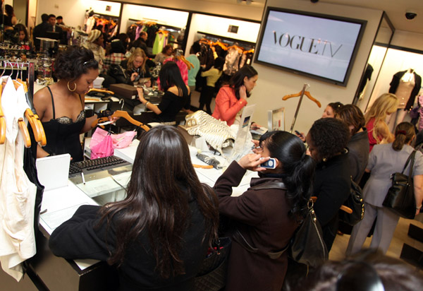 Behind the Seams: Bebe and Vogue Shopping Event