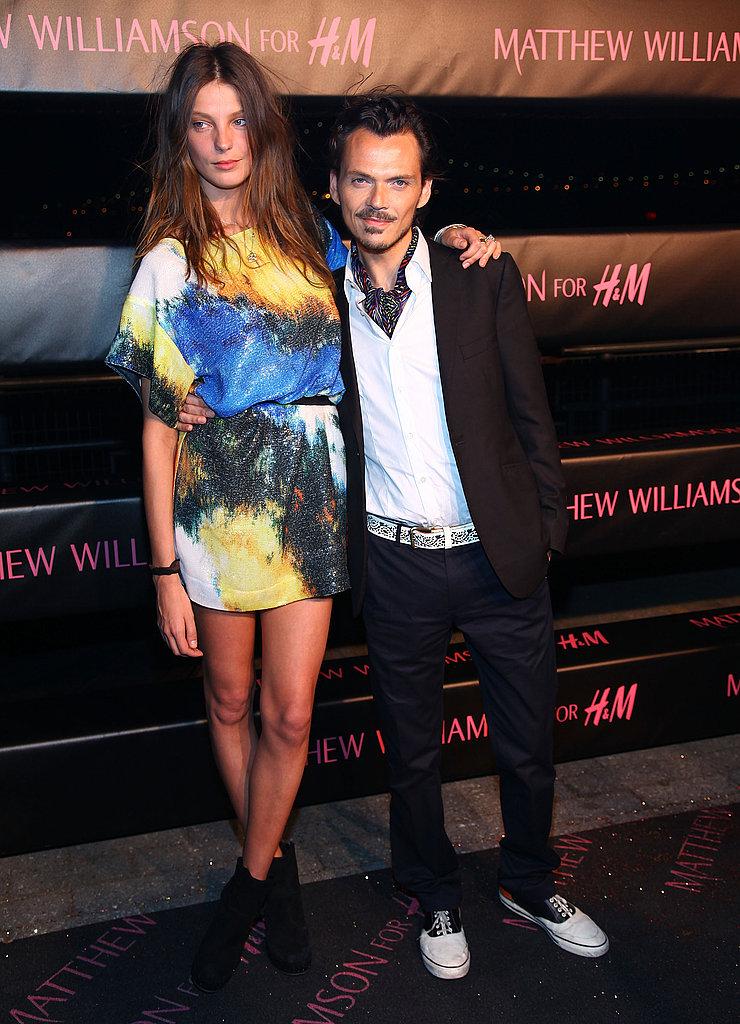 Daria Werbowy & Matthew Williamson