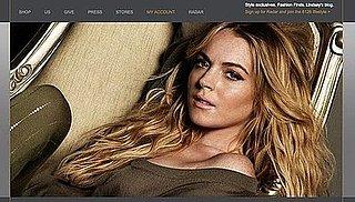 Lindsay Lohan Sells Her 6126 Leggings Online and Starts Blogging