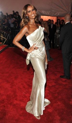 The Met's Costume Institute Gala: Iman