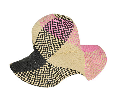 Forever 21 Checkered Floppy Hat