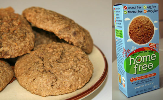 Review of Home Free Peanut- and Dairy-Free Cookies
