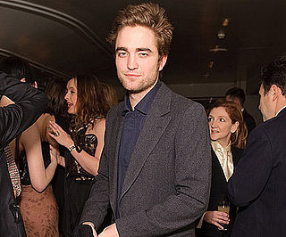 Photo of Twilight's Robert Pattison at a Vogue/BAFTA Dinner in London