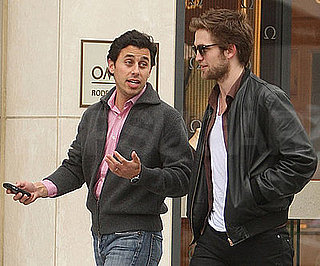 Photo of Robert Pattinson Shopping Along LA's Rodeo Drive