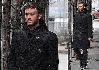 Photos of Justin Timberlake in NYC, On Jimmy Fallon's Late Night Tonight