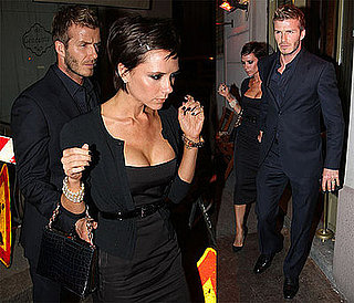 Photos of Victoria Beckham and David Beckham in Milan