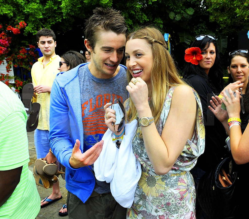 Whitney Port and Robert Buckley in Miami