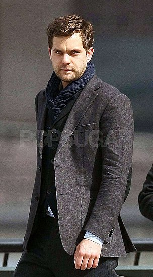Photos of Joshua Jackson Filming Fringe in NYC, Talking About Diane Kruger