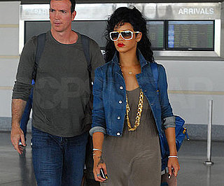 Photo of Rihanna Arriving in Barbados