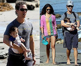 The McConaugheys Starring Levi Have Beachy Style