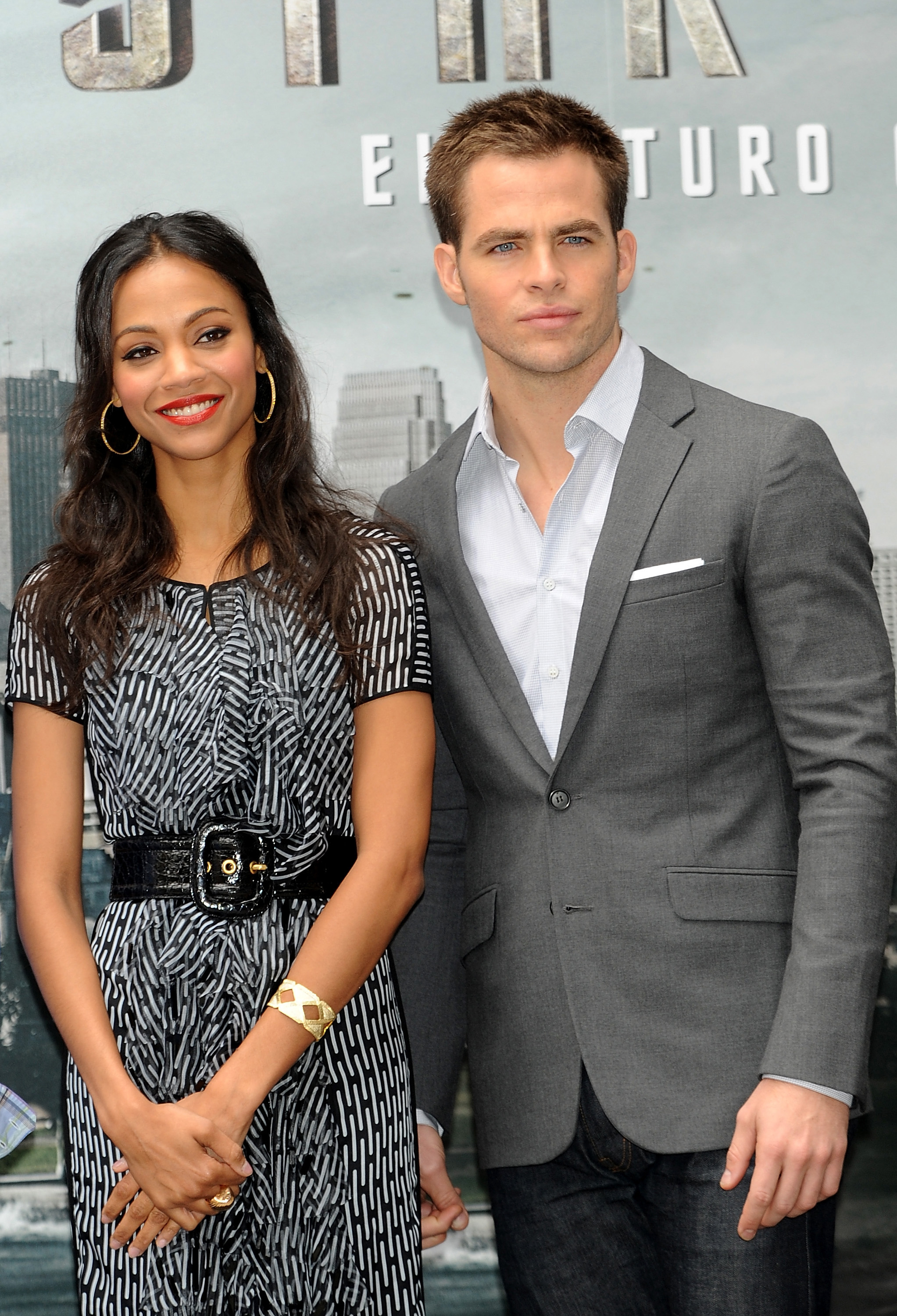 Zoe Saldana And Chris Pine Photos of Chris Pine, ...