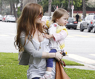 Photo of Isla Fisher and Olive Cohen Together in LA