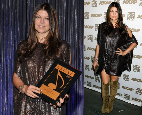 Photos of Fergie at the 2009 ASCAP Pop Awards