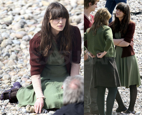 Photos of Keira Knightley Filming Never Let Go in London
