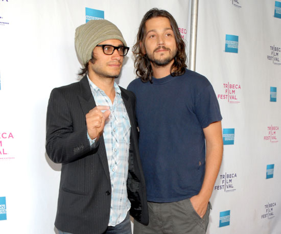Photo of Gael Garcia Bernal and Diego Luna at the Premiere of Rudo Y Cursi at the Tribeca Film Festival