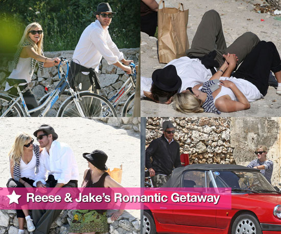 Slideshow of Reese and Jake Romantic in Italy!