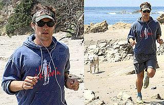 Photos of Matthew McConaughey in Malibu