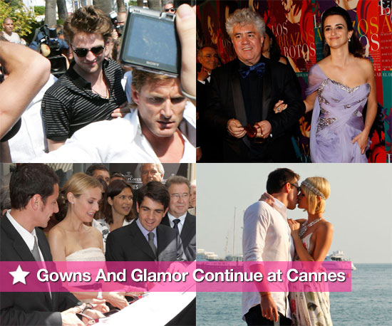 Gowns and Glamor Continue at Cannes