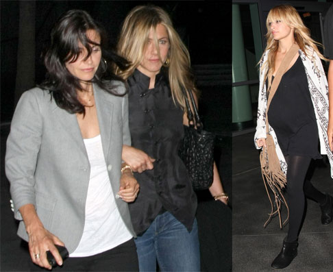 Jen, Court, Nicole at Concert