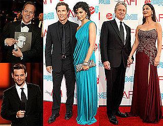 Photos of Matthew McConaughey, Camila Alves, Tobey Maguire, Keifer Sutherland, Catherine Zeta-Jones at  AFI Lifetime Achievement