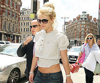 Slide Photo of Britney Spears Out For a Walk in London
