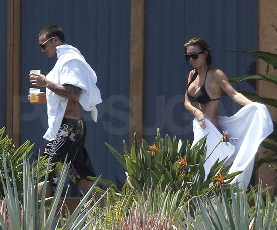 Photo Slide of Audrina Patridge and Corey Bohan Wearing A Bikini and Shirtless Respectively in Mexico