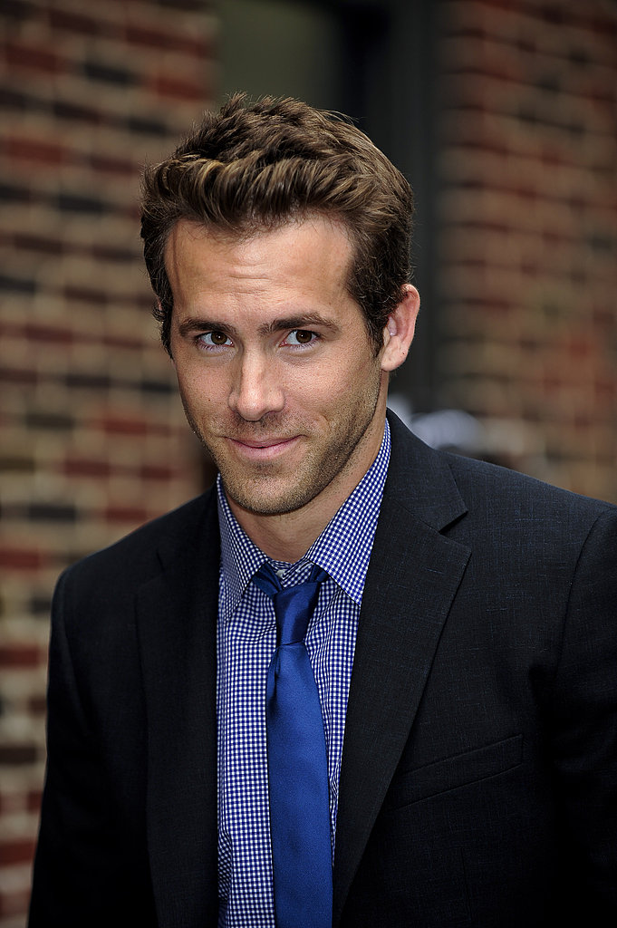 Ryan Reynolds on The Late Show