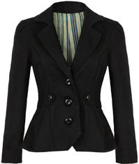 Twill Riding Jacket by Tulle