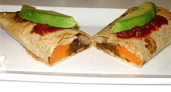 Healthy Cinco de Mayo Recipe: Addictive Sweet Potato Burritos