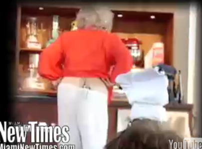 Paula Deen's Pants Fall Off at the South Beach Festival