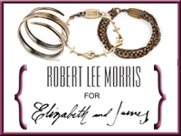 CelebStyle  Robert Lee Morris for Elizabeth and James Bracelet Giveaway