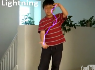 Kid Uses Adobe After Effects