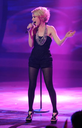 Alexis Grace Talks About Her Elimination from American Idol