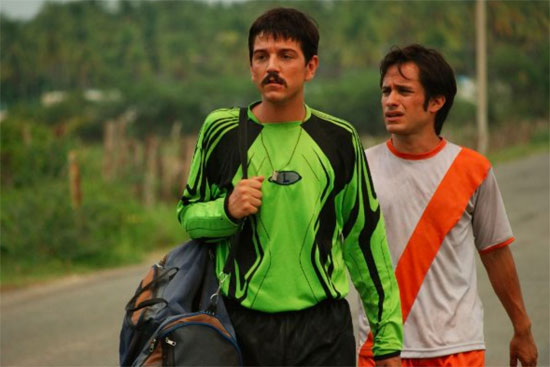 Trailer For Rudo y Cursi Starring Gael Garcia Bernal and Diego Luna