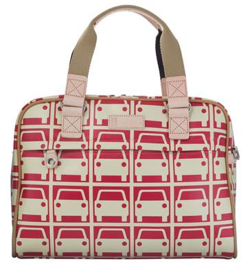 Orla Kiely Tripp Car-Printed Laptop Bag Costs $258