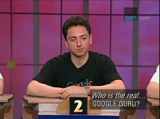 Google Co-Founder Sergey Brin Subject of Game Show To Tell the Truth