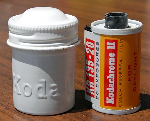 Vintage Kodak Film Canisters Made of Aluminum
